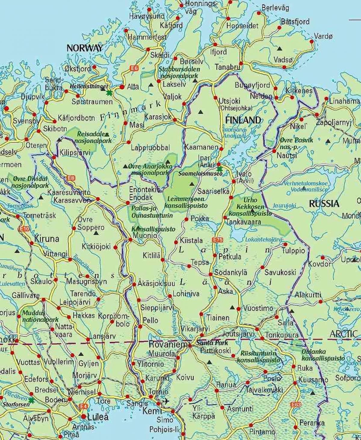 Kartta Lapin Kartta